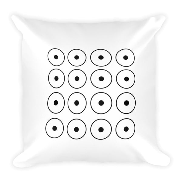 Coffee-aholic Dry Fire Pillow Case