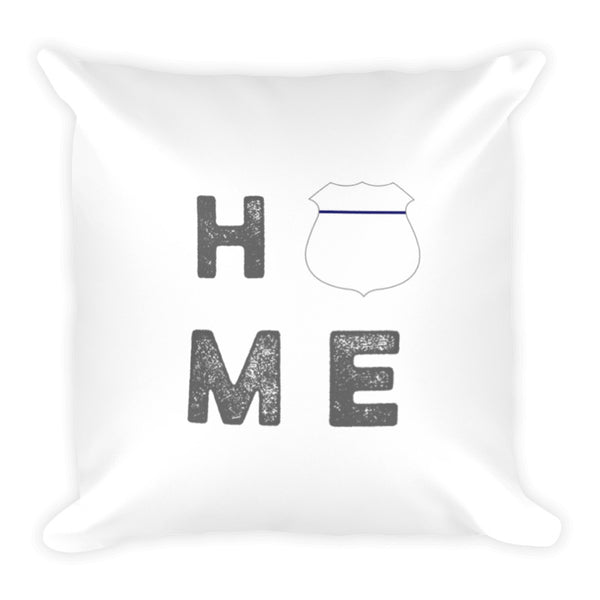 Home Thin Blue Line Dry Fire Pillow Case