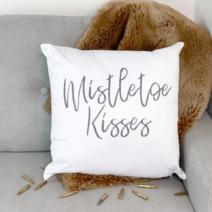 Mistletoe Kisses Dry Fire Pillow