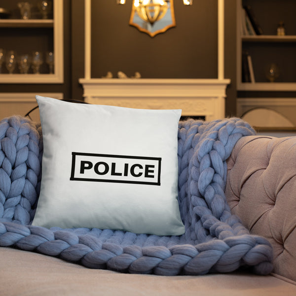 Police Label Dry Fire Pillow, Dot Drill Style Target