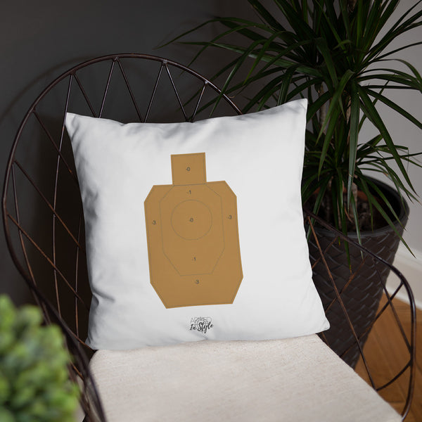 A True Hero Dry Fire Pillow, IDPA Style Target