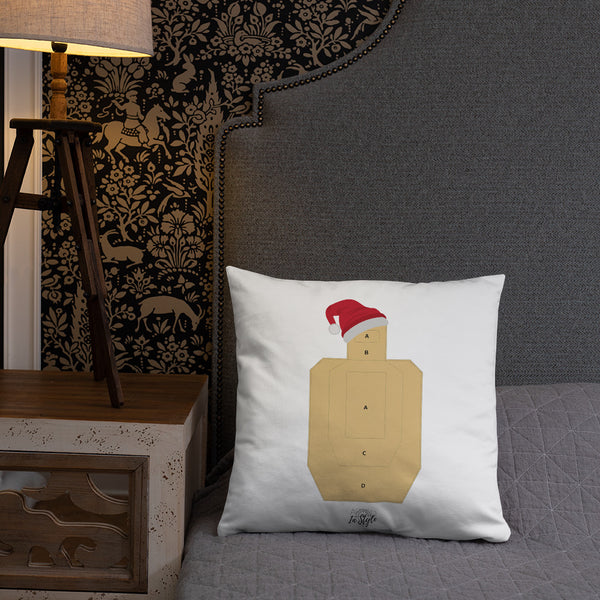 Armed Farms Christmas Trees Dry Fire Pillow, USPSA Style Target