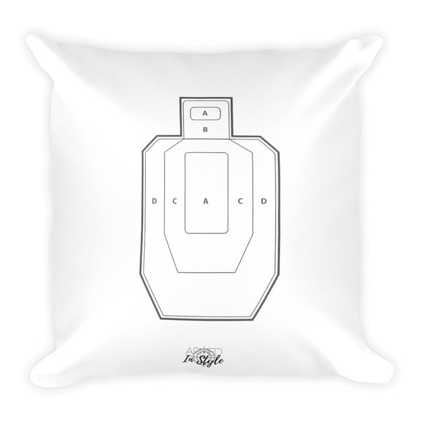 All You Need Is Love (and guns) Dry Fire Pillow, USPSA Style Target