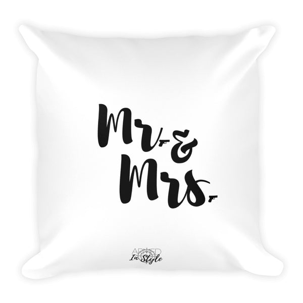 Mr. & Mrs. Dry Fire Pillow-Wholesale
