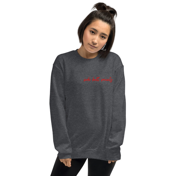 Side Belt Society, Women's Sweatshirt