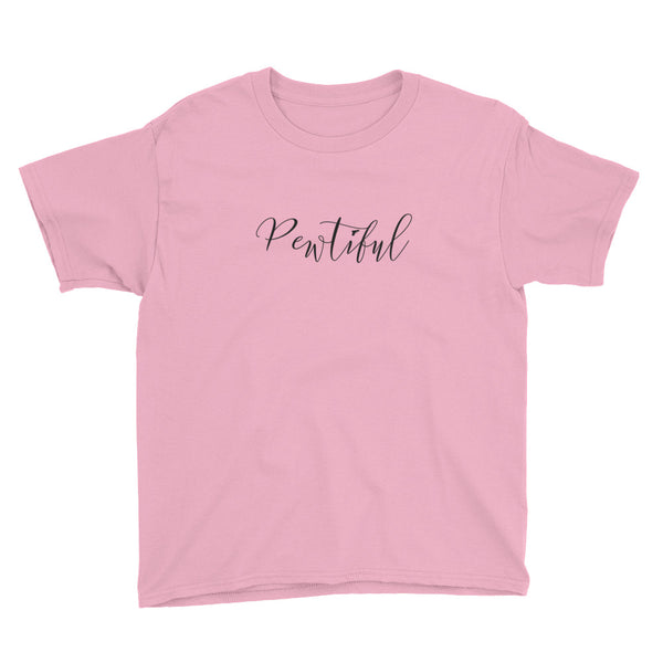 Pewtiful, Youth Short Sleeve T-Shirt