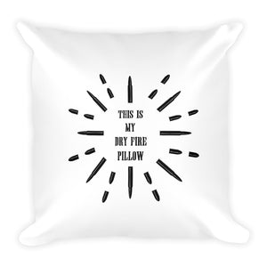 Starburst Ammo Dry Fire Pillow, Silhouette Target