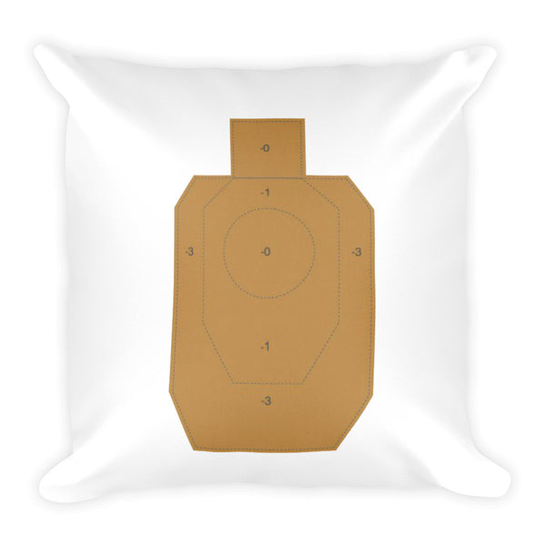 Thankful Dry Fire Pillow, IDPA Style Target
