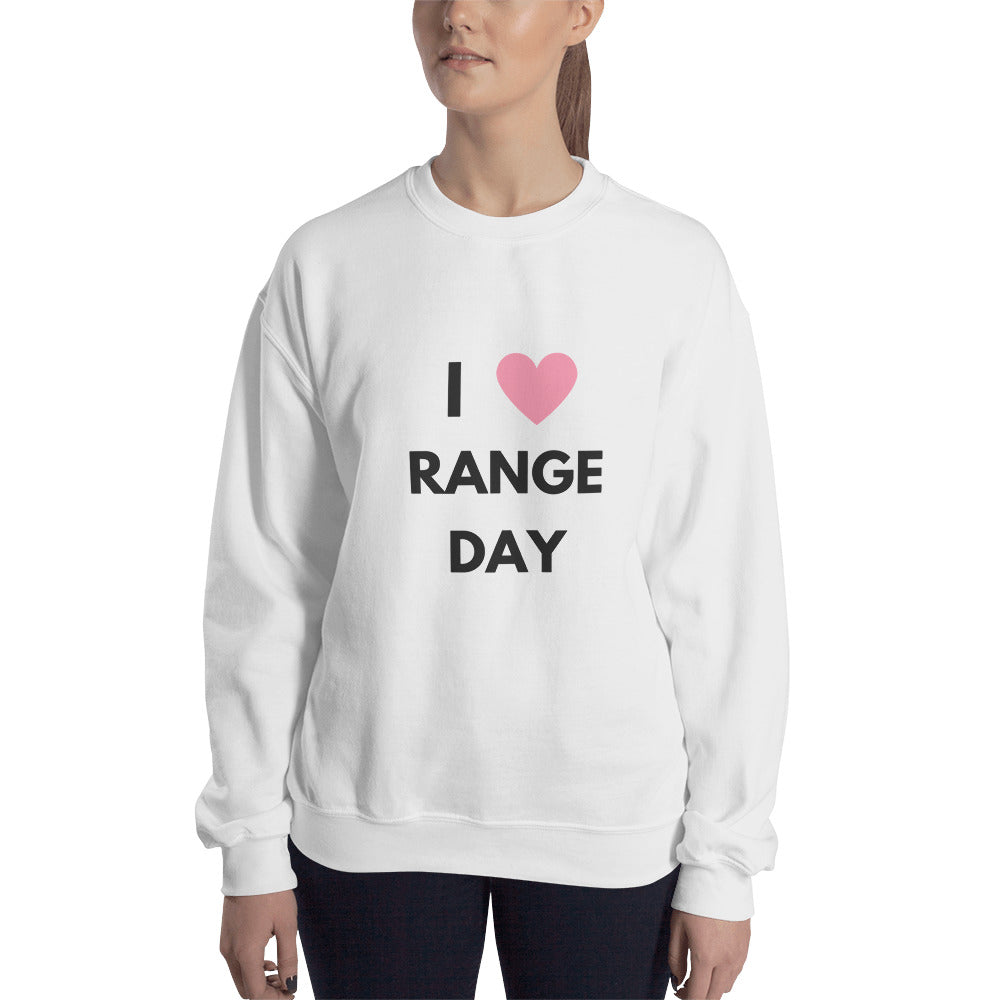 I Heart Range Day Sweatshirt
