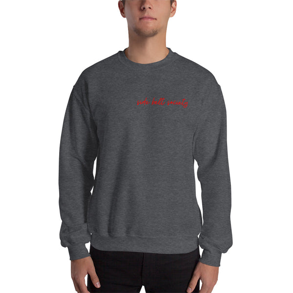 Side Belt Society, Men's Sweatshirt