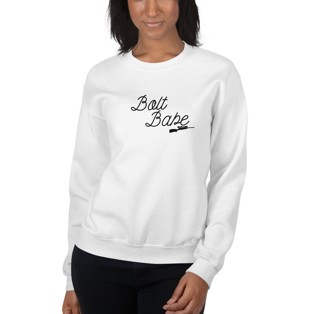 Bolt Babe, Women's Sweatshirt