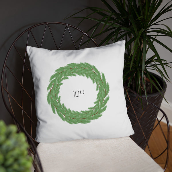 Joy Boxwood Wreath Dry Fire Pillow, USPSA Style Target