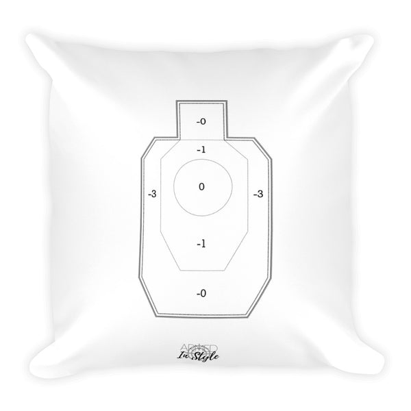 Spring Wreath Dry Fire Pillow, IDPA Style Target