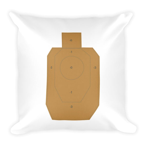 Floral Dry Fire Pillow, IDPA Style Target