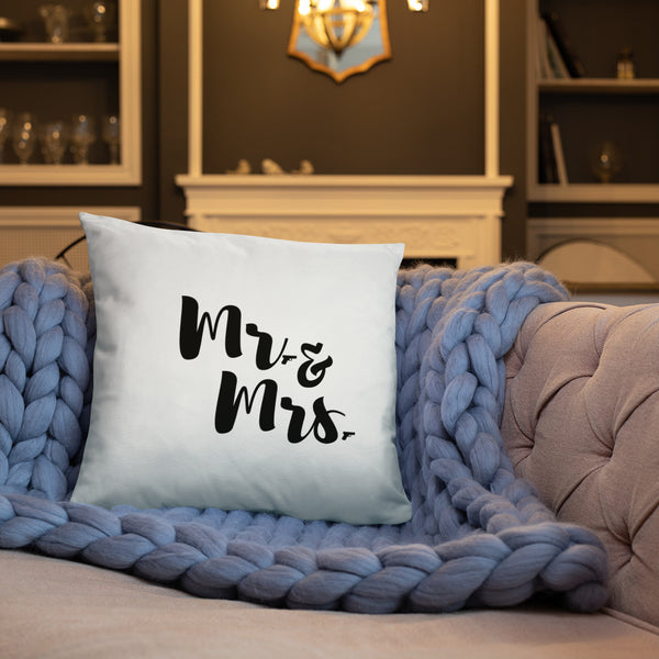 Mr. & Mrs. Dry Fire Pillow, Dot Drill Style Target