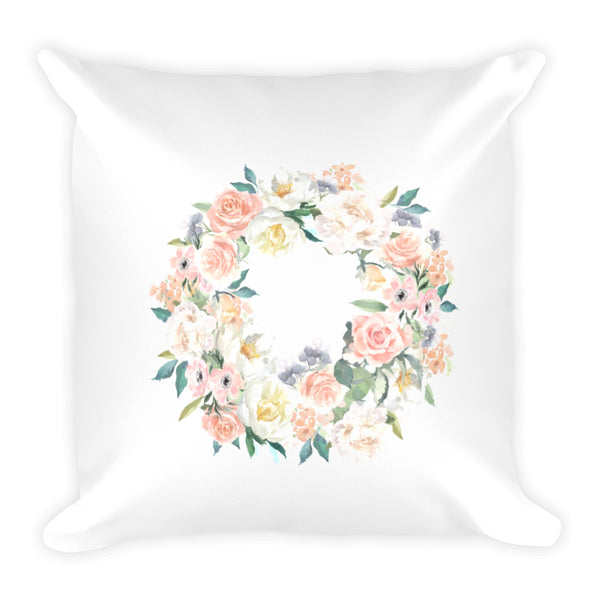 Spring Wreath Dry Fire Pillow, Silhouette Target