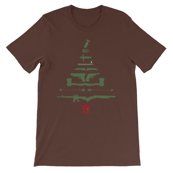 Tactical Christmas Tree, Men's Short-Sleeve T-Shirt