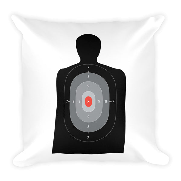 Dry Fire and Dry Shampoo Dry Fire Pillow, Black Silhouette Target