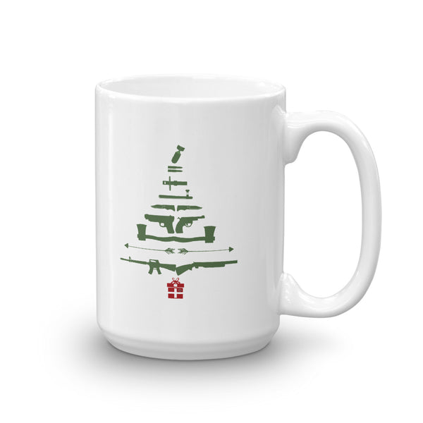 Tactical Christmas Tree Mug