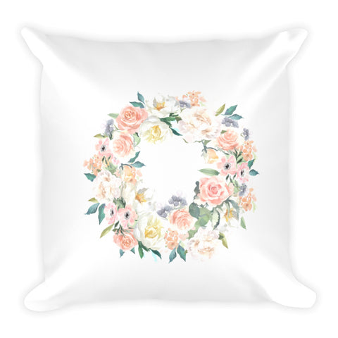 Spring Wreath Dry Fire Pillow, Dot Drill Target