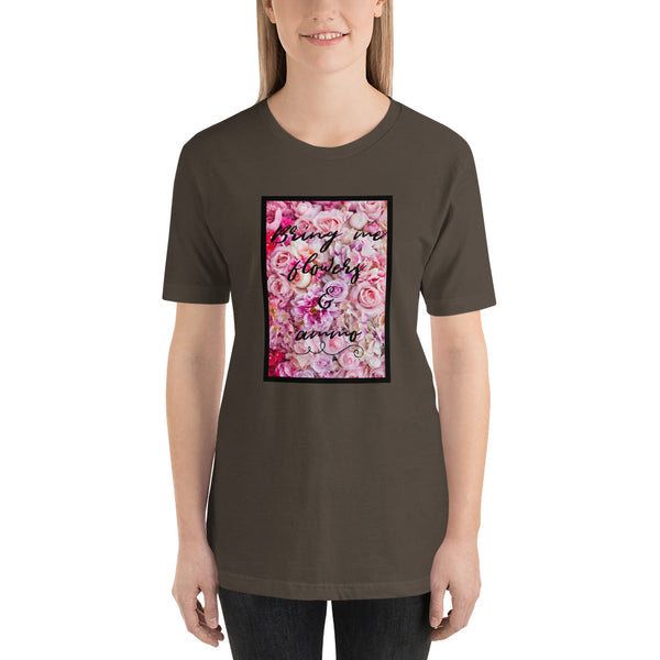 Bring Me Flowers & Ammo, Women's T-Shirt