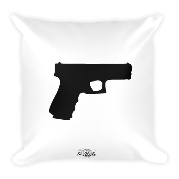 PIstol Dry Fire Pillow, IDPA Style Target