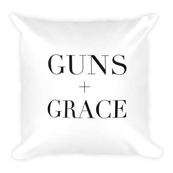 Guns + Grace Dry Fire Pillow
