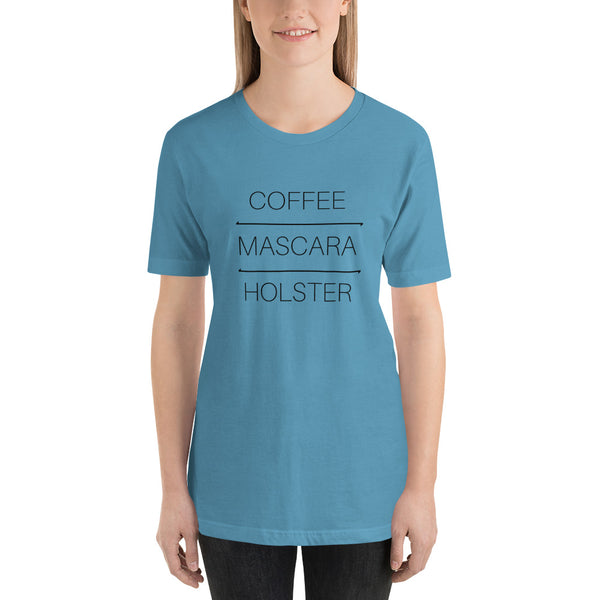 Coffee Mascara Holster, Women's T-Shirt