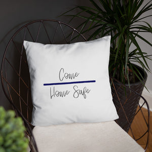 Come Home Safe Dry Fire Pillow, Black Silhouette Target