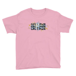 GRL PWR, Youth Short Sleeve T-Shirt