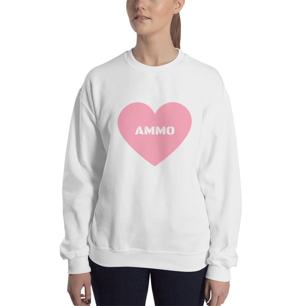 Ammo Love in Pink Sweatshirt