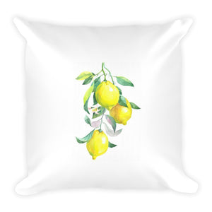 Fresh Lemons Dry Fire Pillow, Dot Drill Target