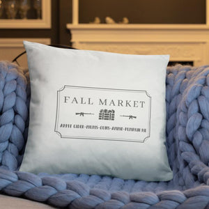 Fall Market Dry Fire Pillow
