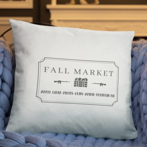 Fall Market Dry Fire Pillow Case