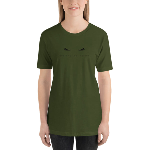 Firearms and Fashion, Women's T-Shirt