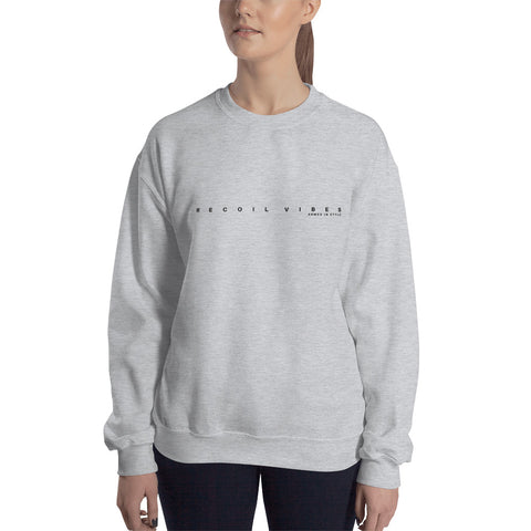 Recoil Vibes, Women's Sweatshirt