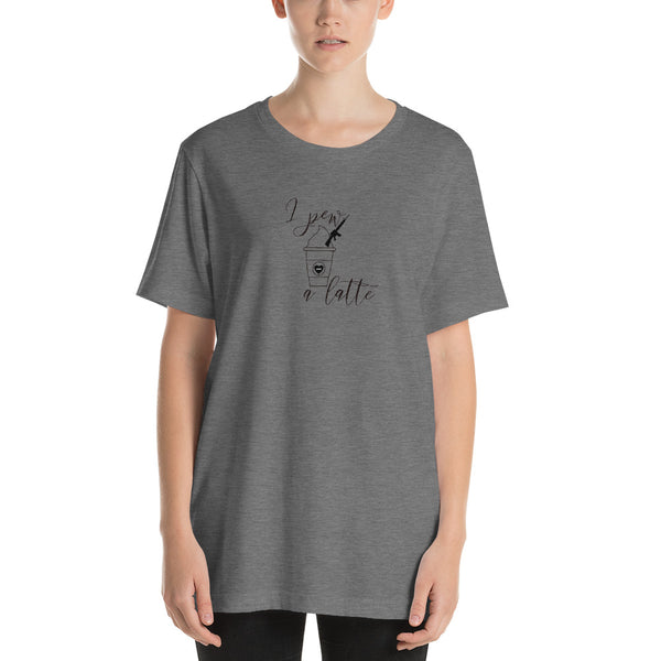 I Pew a Latte, Women's T-Shirt