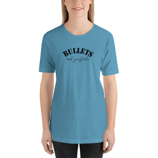 Bullets & Ponytails, Women's T-Shirt