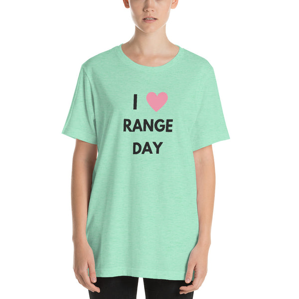 I Heart Range Day, Womens' T-Shirt