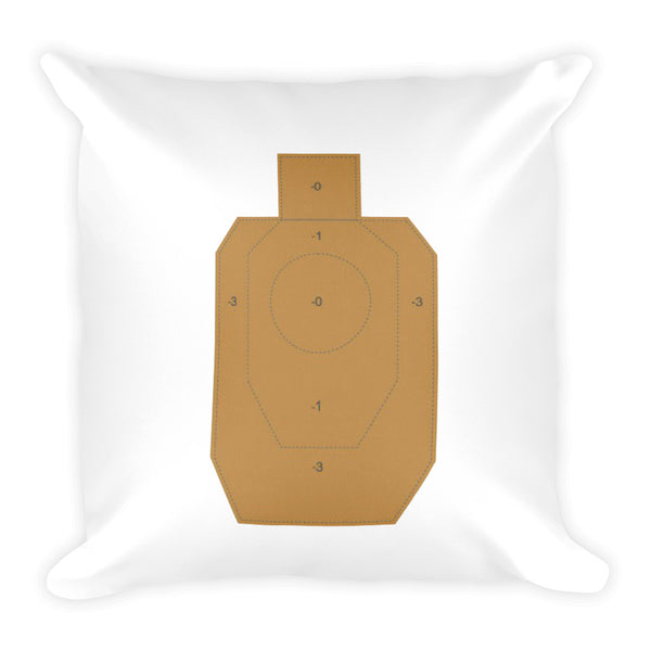 Dry Fire and Dry Shampoo Dry Fire Pillow, IDPA Style Target