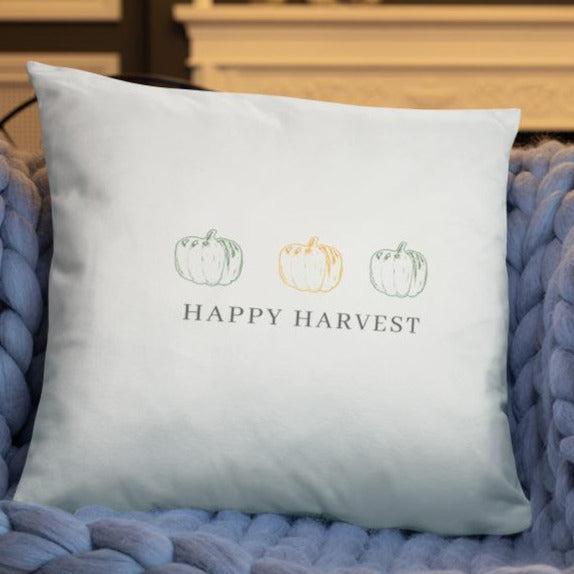 Happy Harvest Dry Fire Pillow Case