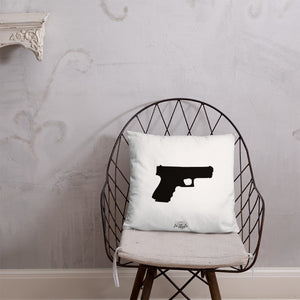 Pistol Dry Fire Pillow