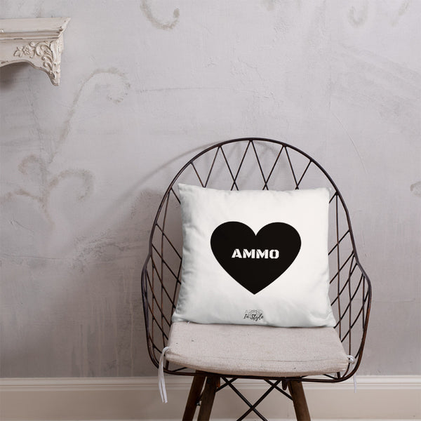 Ammo Love Dry Fire Pillow, Pink Silhouette Target