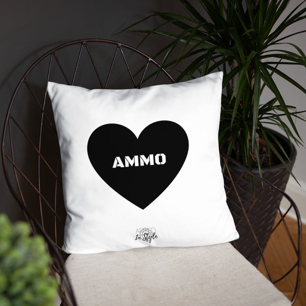 Ammo Love Dry Fire Pillow, USPSA Style Target