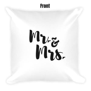 Mr. & Mrs. Dry Fire Pillow Case