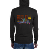 Build Or Die Fleece Zip-up Hoodie - HELDING NORDIC