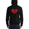 Love Redemption Fleece Hoodie - HELDING NORDIC