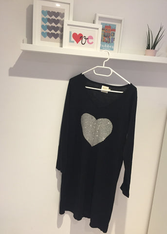 Heart Jumper Dress