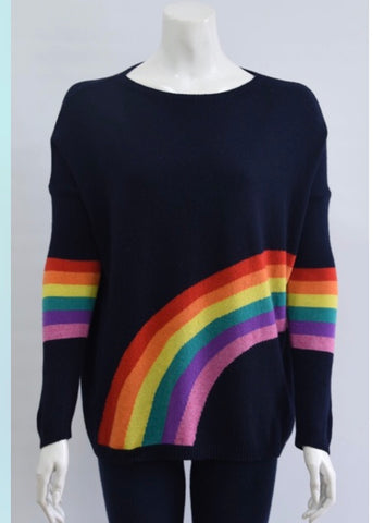Cashmere Mix Rainbow Jumper