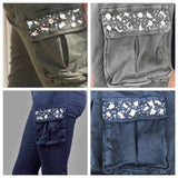 Embellished Cargo Trousers